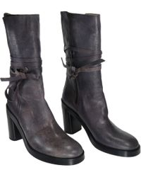 Ann Demeulemeester - Pre-owned Leather Boots - Lyst