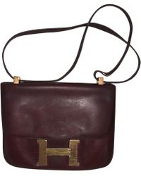 6ae3d0c0cf ... usa hermès constance leather handbag lyst 81824 adda1
