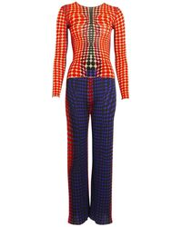 Jean Paul Gaultier - Pre-owned Vintage Multicolour Synthetic Jumpsuits - Lyst