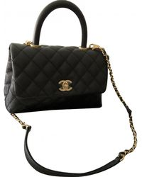 Chanel - Business Affinity Black Leather Handbag - Lyst