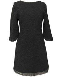 Chanel - Black Cotton Dress - Lyst