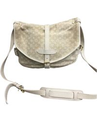 Louis Vuitton | Pre-owned Saumur Cloth Bag | Lyst
