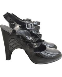 Chanel - Patent Leather Heels - Lyst