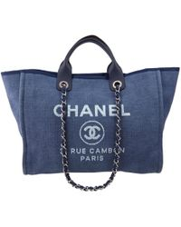 Chanel - Deauville Blue Cloth - Lyst