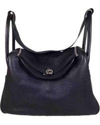 Hermès - Pre-owned Lindy Leather Handbag - Lyst