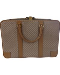 Céline | Pre-owned Beige Leather Travel Bag | Lyst