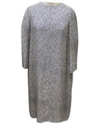 Chloé - Silk Mid-length Dress - Lyst