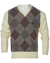 Comme des Garçons - Ecru Synthetic Knitwear & Sweatshirt - Lyst