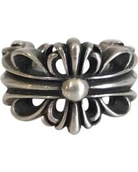 Chrome Hearts - Pre-owned Silver Silver Ring - Lyst