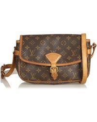 Louis Vuitton - Vintage Sologne Brown Plastic Handbag - Lyst