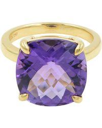 Tiffany & Co. - Purple Yellow Gold Ring - Lyst