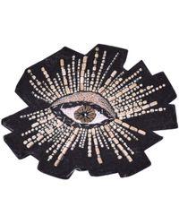 Isabel Marant - Black Faux Fur Pins & Brooches - Lyst