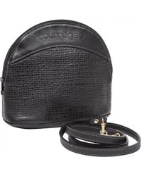 Courreges - Pre-owned Leather Crossbody Bag - Lyst