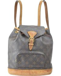 Louis Vuitton - Montsouris Cloth Backpack - Lyst