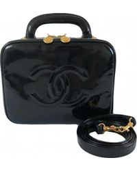 Chanel - Patent Leather Vanity Case - Lyst