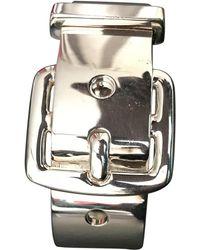 Hermès - Silver Bracelet - Lyst