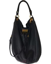 bef0b446b9e Marc By Marc Jacobs Top Of The Chain Leather Messenger Bag in Black ...