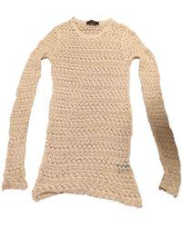 Isabel Marant - Beige Cotton Knitwear - Lyst
