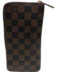 Louis Vuitton - Pre-owned Zippy Cloth Wallet - Lyst