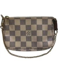 Louis Vuitton - Pre-owned Pochette Accessoire Other Cloth Clutch Bags - Lyst