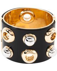 Marc By Marc Jacobs - Pre-owned Black Plastic Bracelet - Lyst