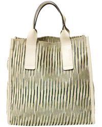 Missoni - Beige Cloth Handbag - Lyst