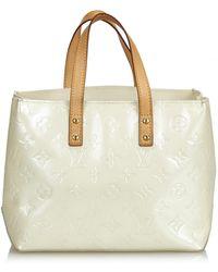 3da64c260461 Louis Vuitton - White Patent Leather Handbag - Lyst