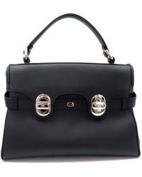 Lancel - L'angèle Leather Handbag - Lyst