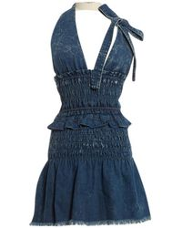 Chloé - Pre-owned Mini Dress - Lyst