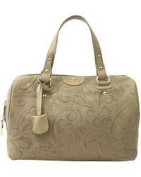 Etro - Green Leather Handbag - Lyst