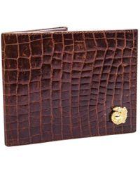 Céline - Pre-owned Crocodile Wallet - Lyst