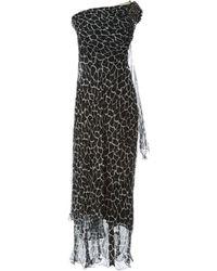 Philipp Plein - Silk Maxi Dress - Lyst