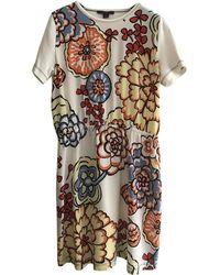 Louis Vuitton - Silk Mini Dress - Lyst