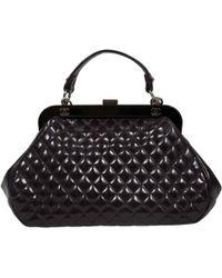 Chanel - Purple Patent Leather Handbag - Lyst