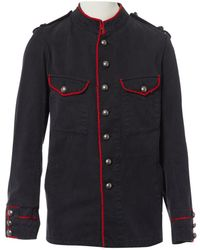 Zadig & Voltaire - Pre-owned Navy Cotton Jackets - Lyst