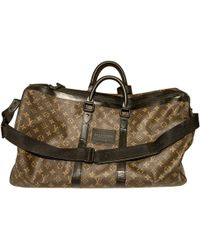 Lyst - Louis Vuitton Pre-owned Grey Cloth Bags in Gray for Men eca38303eec85
