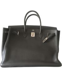 Hermès - Pre-owned Birkin 40 Leather Handbag - Lyst