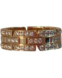 Cartier - Tank Yellow Gold Ring - Lyst