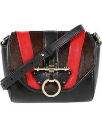 Givenchy - Obsedia Multicolour Pony-style Calfskin Clutch Bag - Lyst