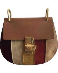 Chloé - Pre-owned Drew Multicolour Suede Handbags - Lyst