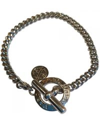 Marc By Marc Jacobs - Silver Metal Bracelets - Lyst