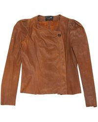 Isabel Marant - Brown Leather Jacket - Lyst