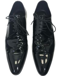Dior - Patent Leather Lace Ups - Lyst