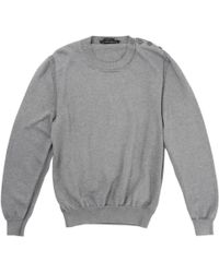 Marc Jacobs - Grey Cotton Knitwear - Lyst