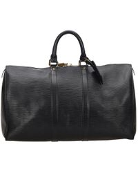 Louis Vuitton - Keepall Leather 48h Bag - Lyst