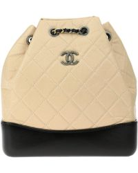 Chanel - Gabrielle Leather Backpack - Lyst