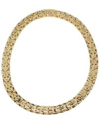 Cartier - Pre-owned Maillon Panthère Yellow Gold Necklace - Lyst