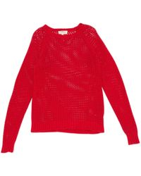 Étoile Isabel Marant - Red Cotton Knitwear - Lyst