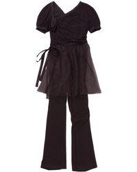 Chanel - Purple Silk Jumpsuit - Lyst