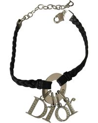 Dior - Signatures Leather Bracelet - Lyst